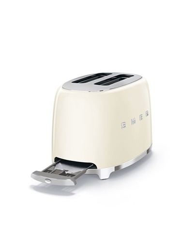 Smeg Krem 2x2 Ekmek Kızartma Makinesi Krem